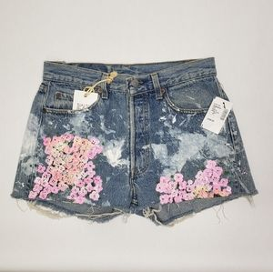 Levi's 501 Rialto Jean Project high rise shorts